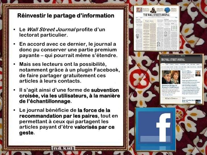Développer la marque média  • Des titres comme Le Figaro développent des   services « lifestyle », autour de leur marque. ...