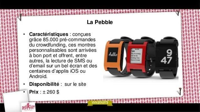 La Neptune Pine watch • Caractéristiques : c'est la première génération des montres smartphone qui permettent d'appeler, d...