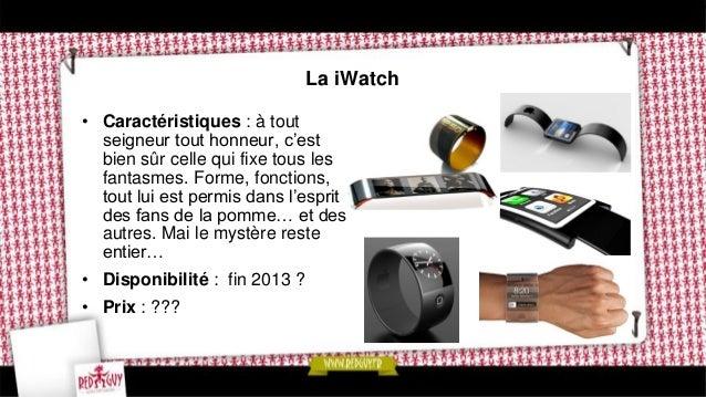 La LG watch • Caractéristiques : pour ne pas se laisser distancer par son compatriote, LG préparerait une smartwatch sous ...