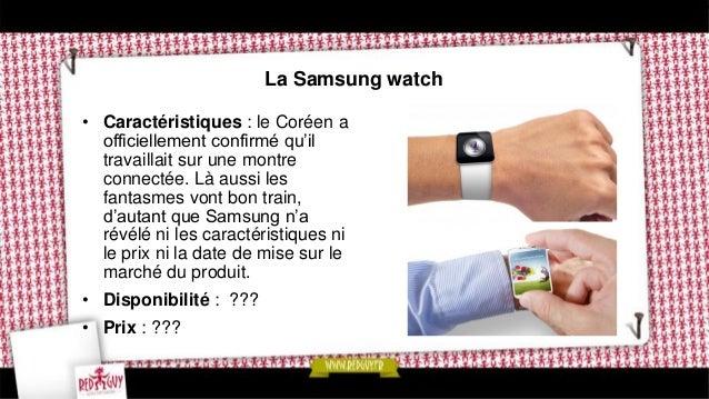 La Google watch • Caractéristiques : la firme de Mountain View a elle aussi déposé un brevet pour une montre qui reprend u...