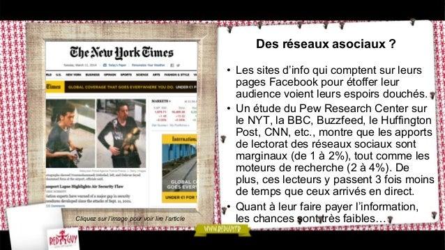 Des réseaux asociaux ? • Les sites d'info qui comptent sur leurs pages Facebook pour étoffer leur audience voient leurs e...