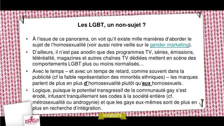 Faut-il parler aux LGBT ?•   En définitive, l'attractivité des gays pour les marques ne résiderait-elle pas tout    simple...