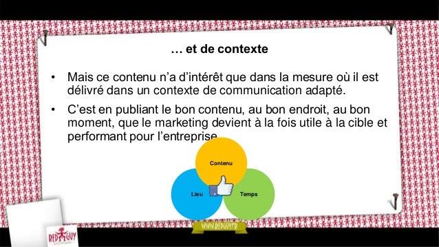 Comment mettre en place l'inbound Marketing ? • De la même façon que l'intégration, l'inbound Marketing exige une vraie di...