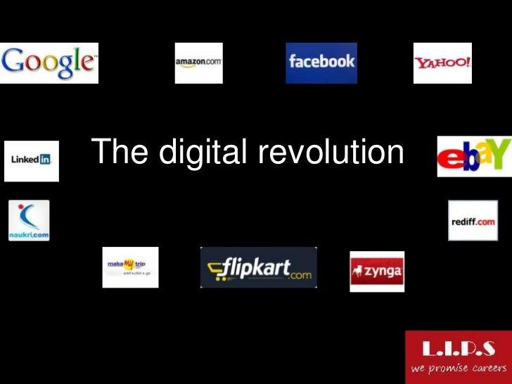 $192 billion               The digital revolution