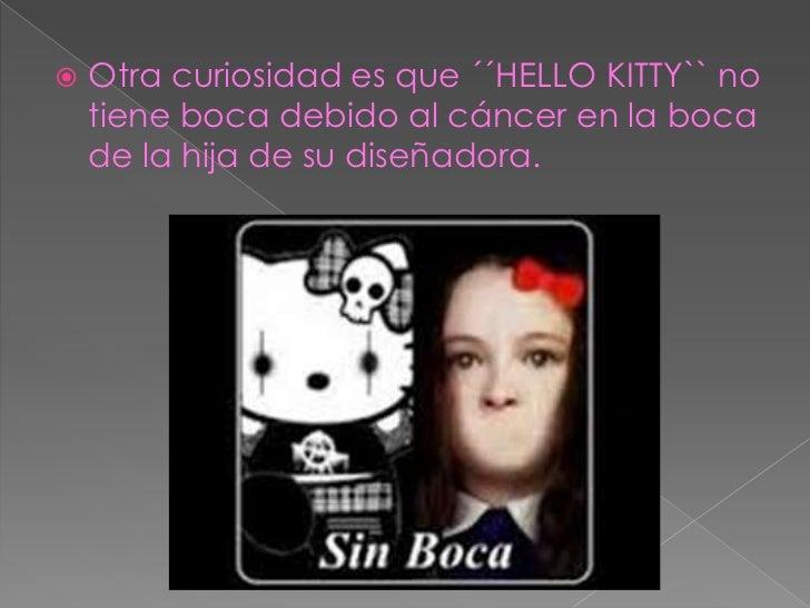 La Verdadera Historia De Hello Kitty