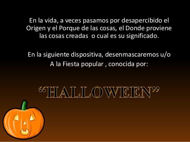 La verdad sobre el halloween Slide 2