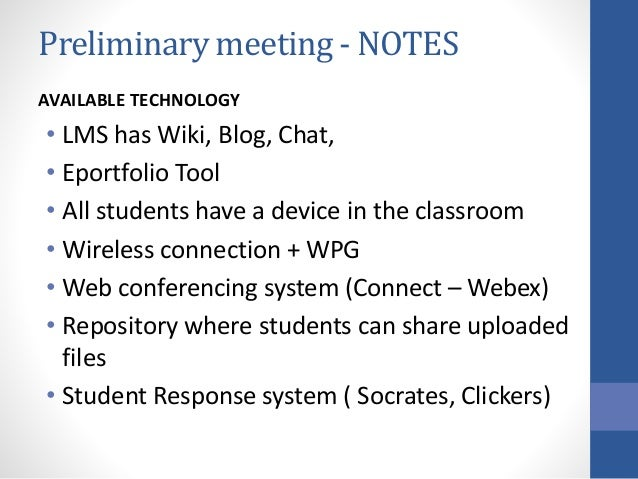 Suggestion for WEEK 2 • Discussion forum (before class – key ideas…_ • Blog/Journal (for after class reflection) • Groups ...