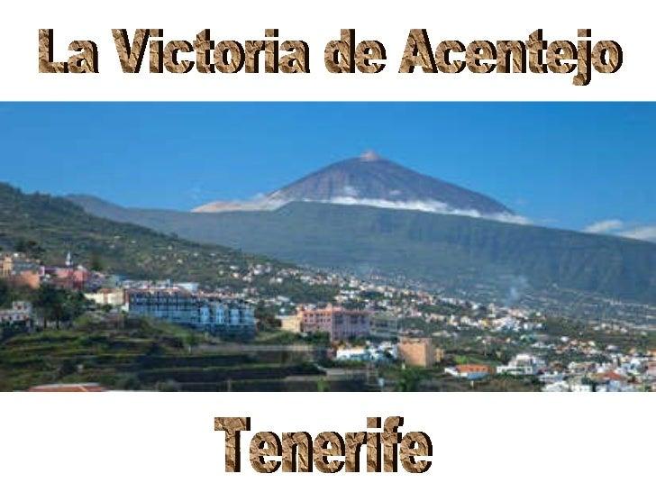 La Victoria de Acentejo Tenerife