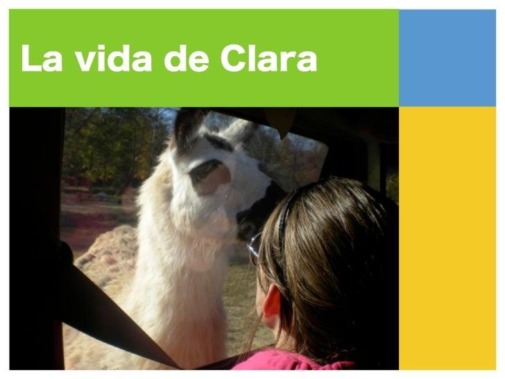 Me llama Clara y soy    de Mooresville,  Carolina del Norte.     Estoy amable,     intelligente ytalentosa. Mis amigosestá...