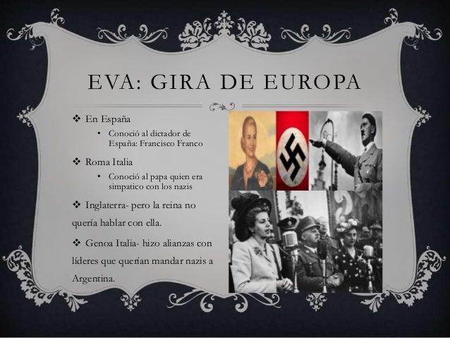 Resultado de imagen para EVA PERON NAZI