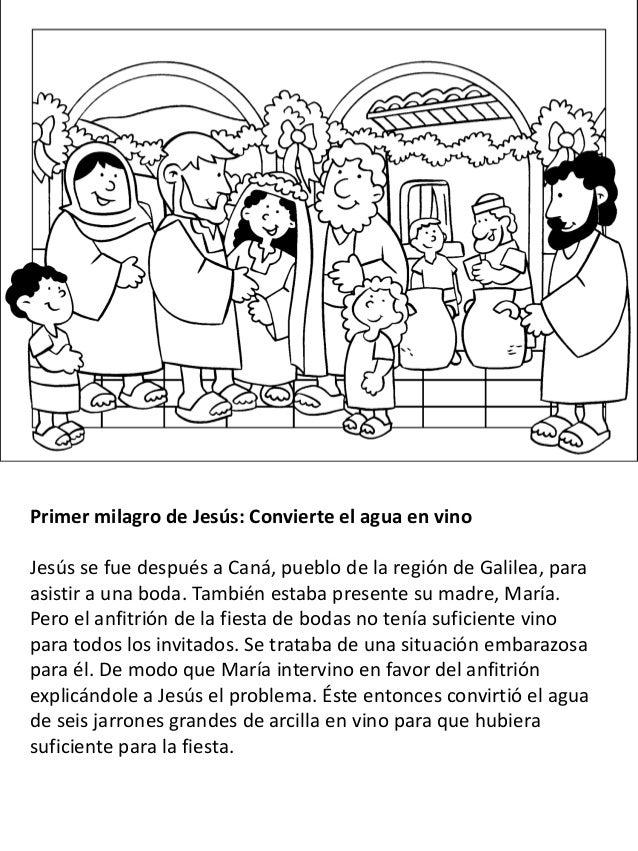 La Vida De Jesús Para Niños Libro Para Colorear