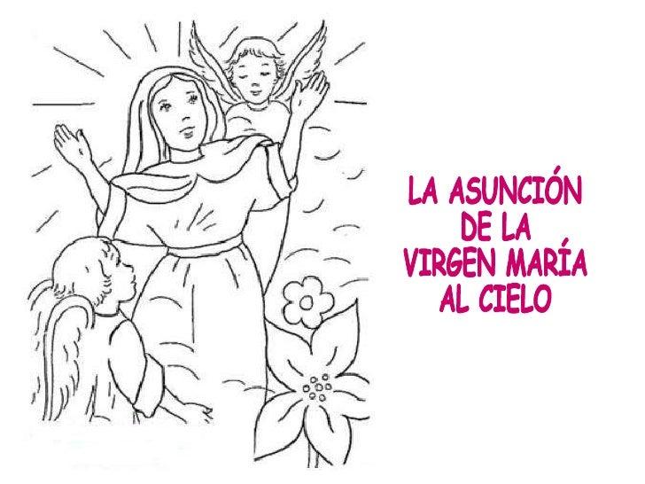Resultado de imagen de la asunción de la virgen maria al cielo