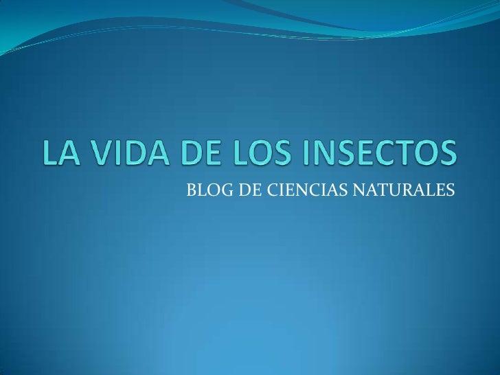 BLOG DE CIENCIAS NATURALES
