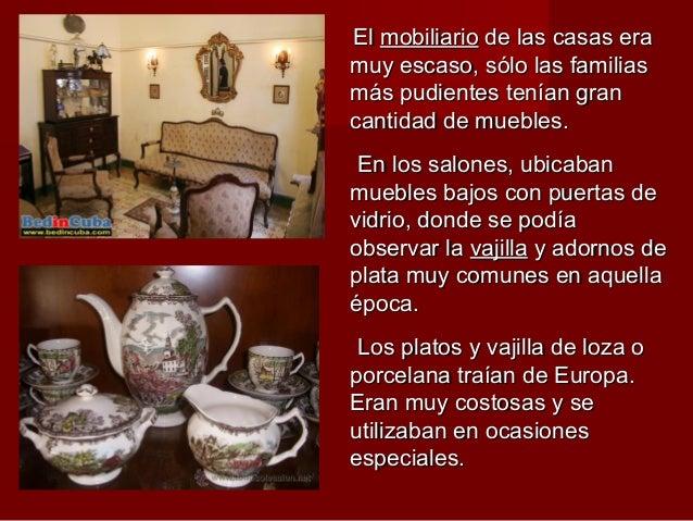 La vida en la poca colonial 1810 - Muebles la colonial ...