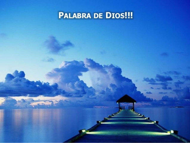 PALABRA DE DIOS!!!