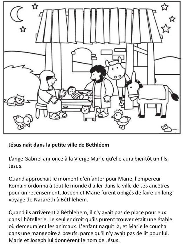 la vie de jsus pour les enfants cahier de coloriage