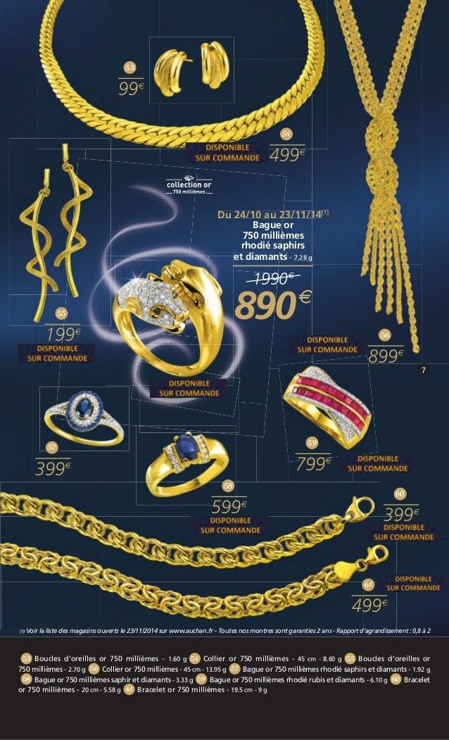 Bracelet en or pour femme auchan