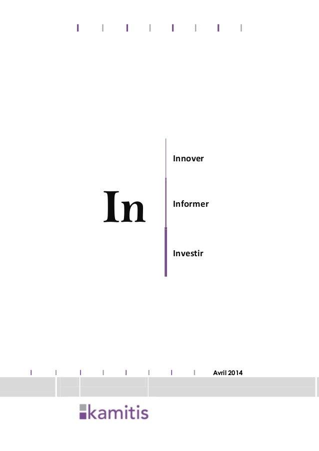 In Innover Informer Investir Avril 2014