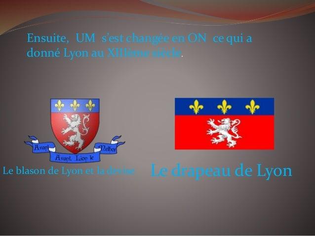 2ème partie: Les informations géographiques Au niveau de la population, Lyon est 3ème commune de France grâce à ses 491 26...