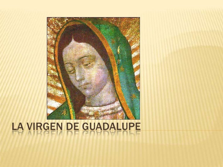 La Virgen de guadalupe<br />