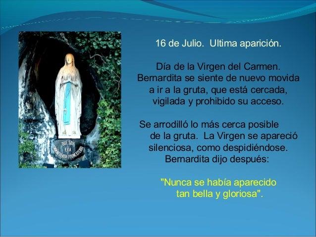 Dia De La Virgen De Lourdes: La Virgen De Lourdes
