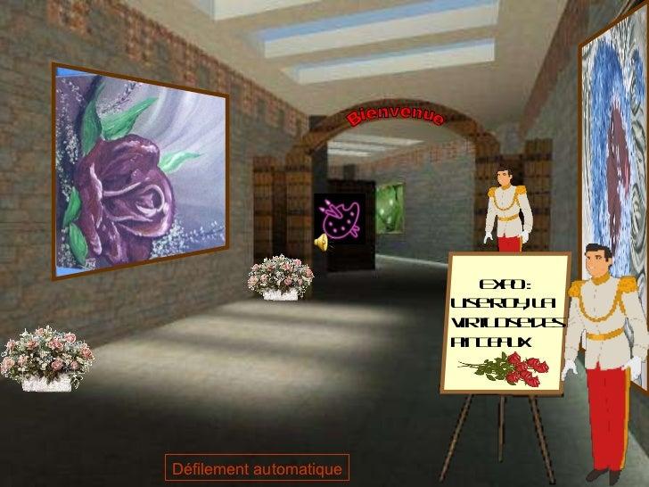 Expo : Lise Roy, la virtuose des pinceaux  Bienvenue Défilement automatique