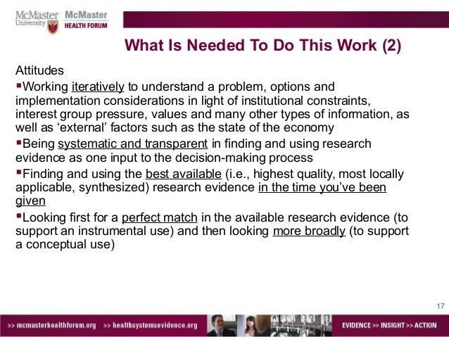 what is research work