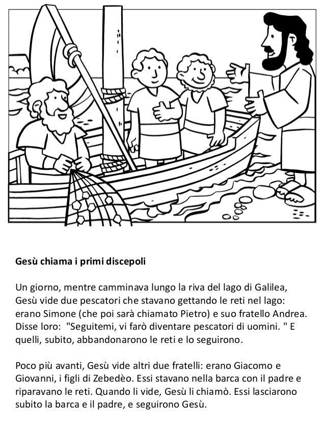 La vita di Gesù per i bambini - Libro da colorare