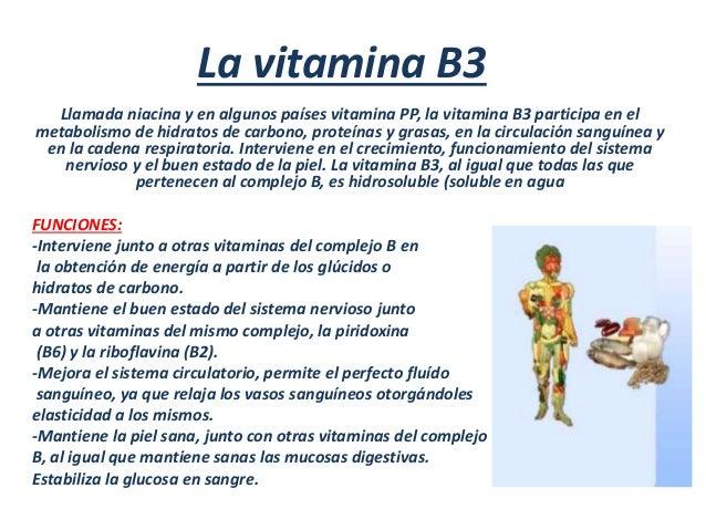 Resultado de imagen de vitaminas B  contra la contaminación atmosférica
