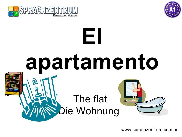 El apartamento      The flat   Die Wohnung                 www.sprachzentrum.com.ar