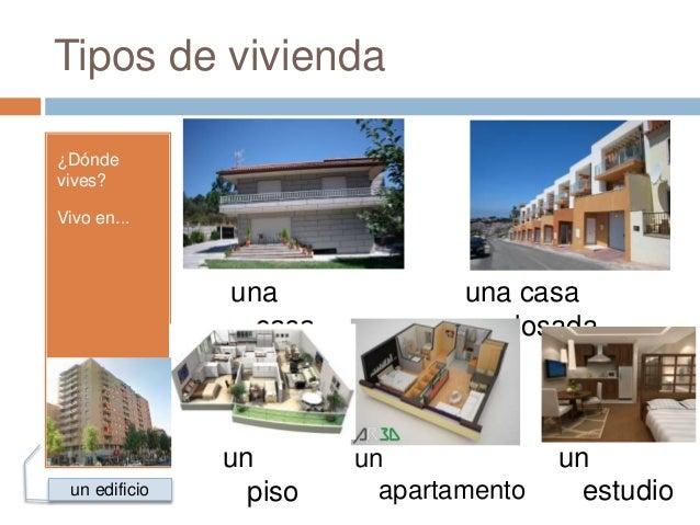 La vivienda for Tipos de tejados de casas