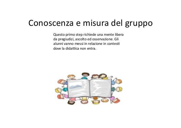 Lavorare con il gruppo classe alla scuola elementare Slide 2