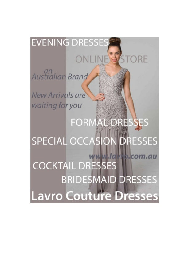 The Famous Online Dresses Shopping Store of Long Dresses in Melbourne, Australia