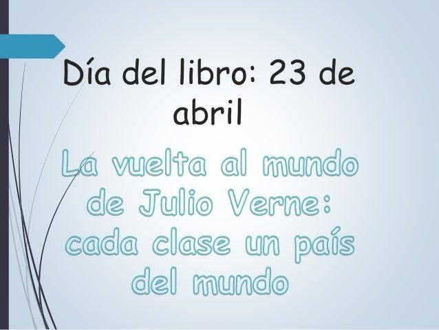Día del libro: 23 de abril