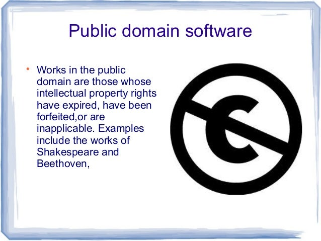 Public Domain Software