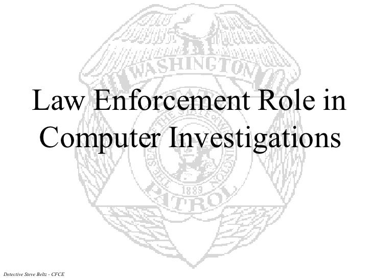 Law Enforcement Role In Computing
