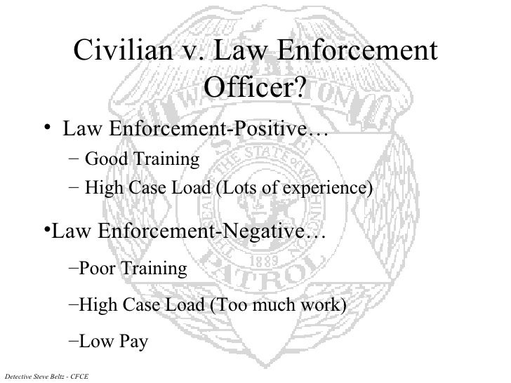 computers in law enforcement essay My last search for case law on computer crime was in july 1997 21 june 1999, revised 4 sep 2002 my essay,which essay includes to websiteson computer viruses, computer crime, and related topics, plusa list of good books on computer crime.