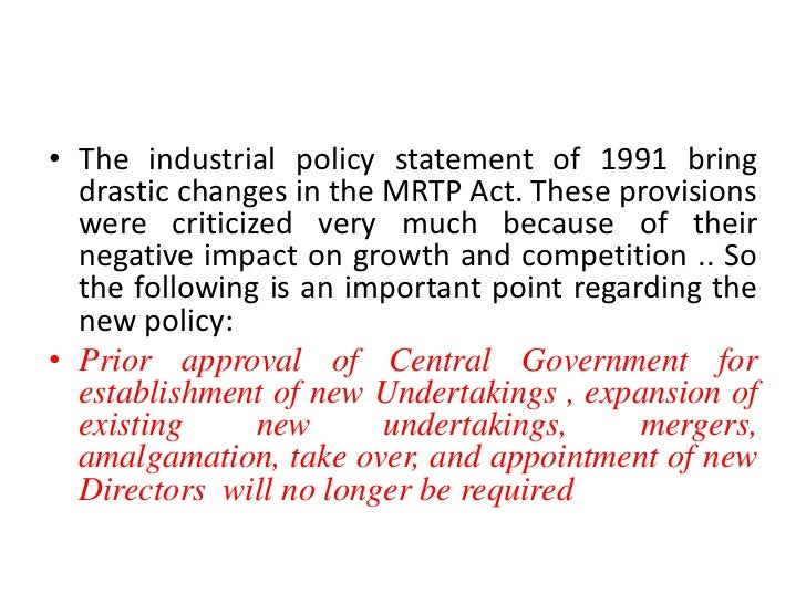 ?the monopolies and restrictive trade practices essay The act defines restrictive trade practices as agreements, decisions or concerted practices by undertakings which have as their object and effect, the prevention, distortion or lessening of competition in trade in any goods or services in kenya, or a part of kenya.