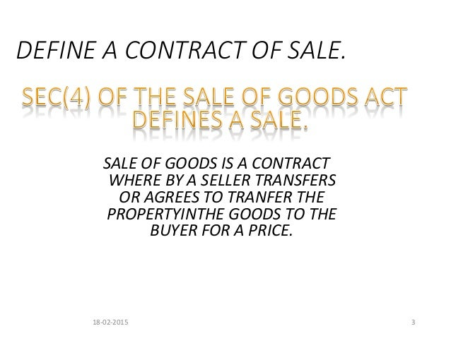sale of goods ordinance Section 15 – sale by description (1) where there is a contract for the sale of goods by description and the extent to which being exposed for sale or hire (3) where the seller sells goods in the course of a business and the buyer there is an implied condition that the goods supplied under the contract are reasonably fit for that purpose.