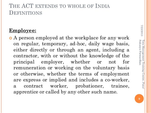 Case law on sexual harassment in the workplace