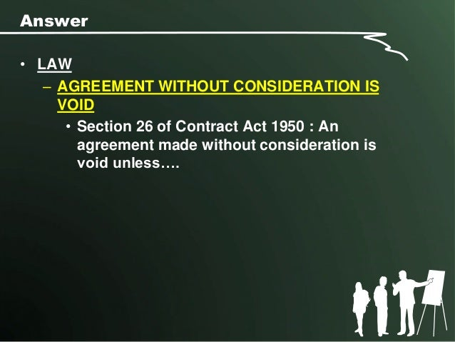contract law problem questions and answers Poole: contract law self-test questions and answers test yourself by downloading the questions first then download the sample answers questions agreement and certainty (pdf,  agreement problems (pdf, size: 136kb) enforceability of promises - intention to create legal relations, consideration,.