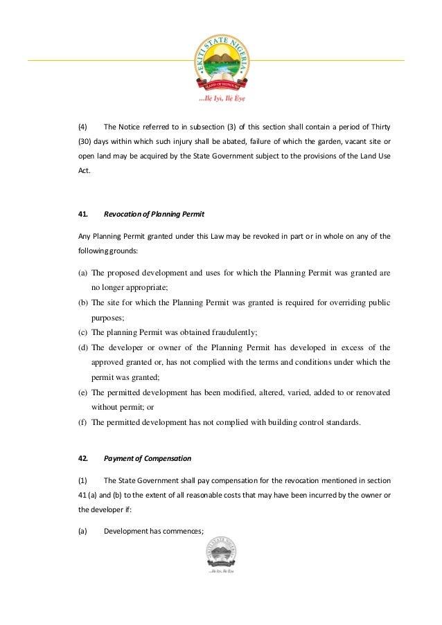 Land Use Act Pdf