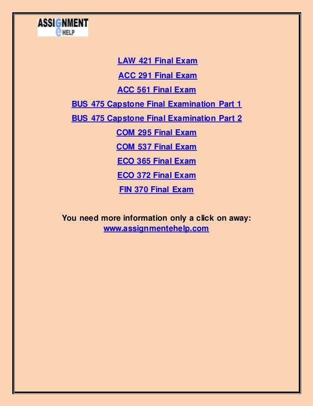 fin 486 final examination Fin 486 strategic financial management final exam answer admin december 9, 2013 august 12, 2015 management ← mis 535 managerial appls of info tech_week 8 _final exam_ 100% correct answer.