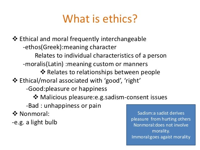 What Are Moral Values?