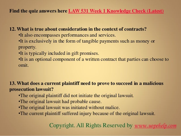 law 531 final exam latest uop A team of learned professional is at your service to help you get through the difficult law 531 final exam 30 questions with answers (university of phoenix.