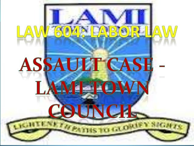 Difference – Termination and Summary dismissal Lami Town Council Case Study – Assault Case