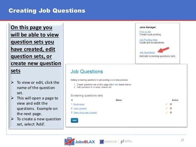 LAWA job portal employer training guide 20151013