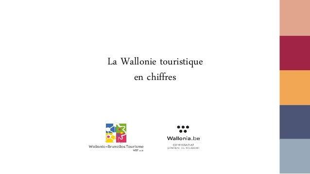 La Wallonie touristique en chiffres