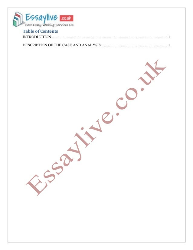law analysis of criminal case essay sample