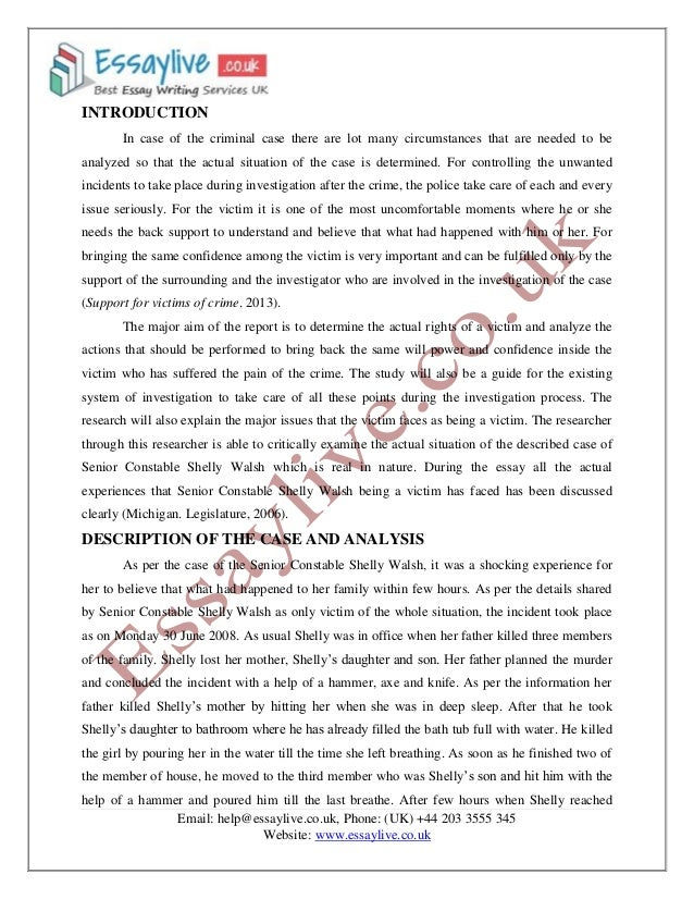 how to write a website analysis paper